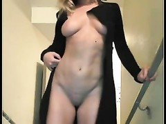 Solo #45 (Blonde babe jerks in the Staircase) Thumb
