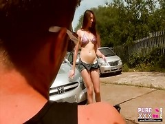 PureXXXFilms swimsuit  Wash Thumb