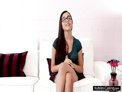 Nubiles Casting - chaotic facial for cute teen Thumb