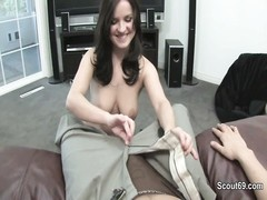 German not Step-sister give a fellatio in privat sextape Thumb