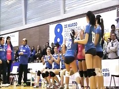 SWEETS butt SWEETS cameltoe on volleyball Thumb