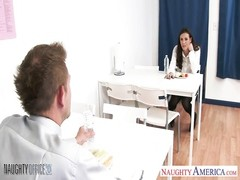 cutie Casey Calvert plowing in the office Thumb