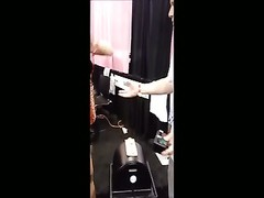 Jayla Diamond riding the sybian saddle Thumb