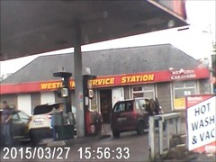 nice chick at the pumps ( benign donk ) Thumb