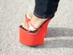 red MULES (estefania) Thumb