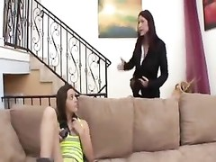 Mother Seduces NOT Her teenage  Daughter Thumb