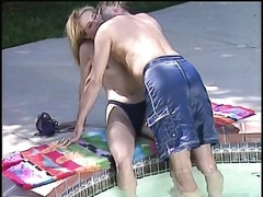 anal slut plowed in the pool Thumb