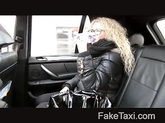 FakeTaxi - Czech bombshell takes on big man-meat Thumb