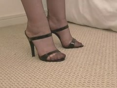 FF STOCKINGS IN HIGH HEELS SANDALS Thumb