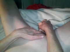 Redhead milf playing with big dildo Thumb