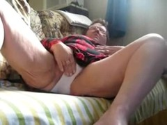 Stolen video of my old grandma fingering. Amateur older Thumb