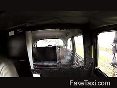 FakeTaxi - trim steamy backseat banging Thumb