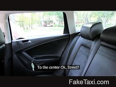 FakeTaxi - youthfull  chick poked  in taxi Thumb