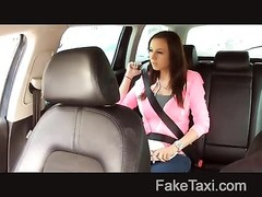 FakeTaxi - casual big bra-stuffers and taut  snatch Thumb