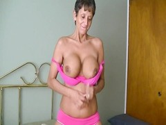 chesty granny poked  rear end  and creampied Thumb
