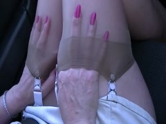 Stocking top play in car Thumb