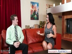superior brunette girlfriend Holly West ravaging Thumb