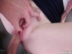 Innocent blonde being fucked at the backseat in Stranded Teens video Thumb