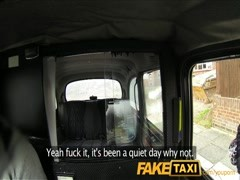 FakeTaxi Big tits babe gives cabbie a blowjob Thumb