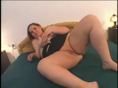 Horny Fat BBW with big tits and shaven Wet Pussy Thumb