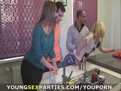 Young Sex Parties - Sharing the fruit of group sex Thumb