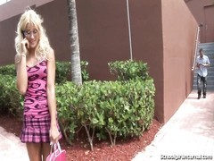 Hot Blonde Schoolgirl Gets Filled With Sperm Thumb