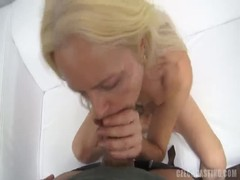 Blonde mature with saggy tits getting fucked in the clip by Czech Casting Thumb
