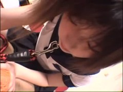Naughty Japanese teen banged Thumb