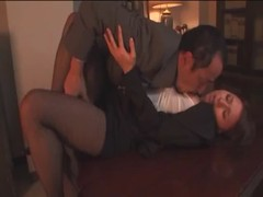 Astonishing busty Asian is having great sex with her boss Thumb