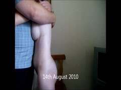 Couple Embrace Before Hard Caning Thumb