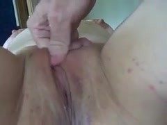 Collared BBW Fingered Throated and Cums Thumb