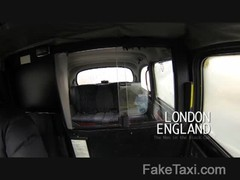 FakeTaxi - Hungarian blonde in backseat anal Thumb
