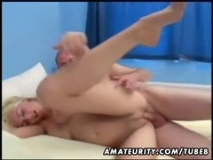 Amateur blonde girlfriend homemade anal with facial cumshot Thumb