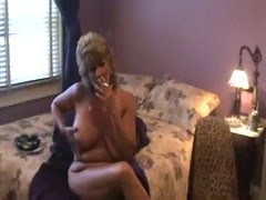Hot Dirty-Talking Older Cougar Smoking and Fucking Thumb