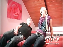 MMVFilms Uncle pulverizing a cute teenage  lady hard Thumb