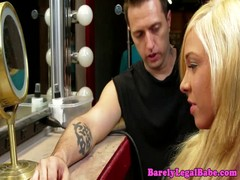 Katerine Kay sucks at gloryhole 2 Thumb