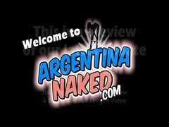 ValentyneX at ArgentinaNaked - Self anal invasion knuckle Thumb