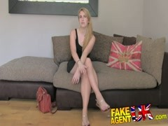 FakeAgentUK Amateur tattooed model desperate Thumb