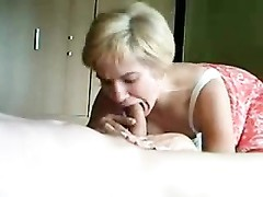 yellow-haired wifey  makes porn with husband Thumb