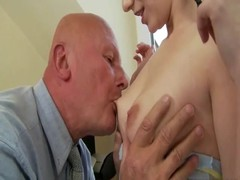 Grandpas and Teens Compilation with rough sex Thumb
