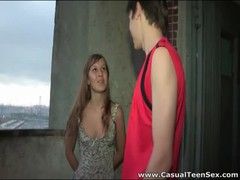 Short sun dress on cute teen he fucks hard Thumb