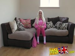 FakeAgentUK Busty euro babe gives agent afternoon sex Thumb