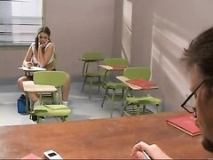 Schoolgirl cheats and gets pulverized Thumb