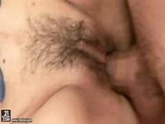 Sexy mature lady Mabel is fucking hard with her man Thumb