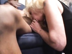 fledgling  white milf fucked in the arse by big shaded shaft Thumb