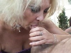 inexperienced blondy old strokes junior  mans man meat Thumb