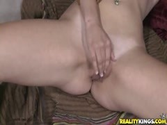 Sexy young babe sucks big insatiable dick Thumb