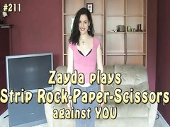 Here's another POV game, featuring current and killer Zayda playing against you in a feeble game of Thumb