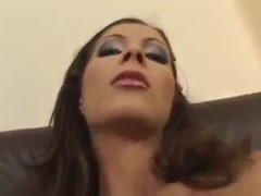 Face bang and ass plowing in threesome Thumb