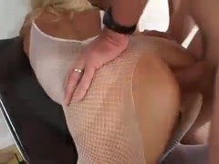Guys anally gangbang the big tits blonde Thumb